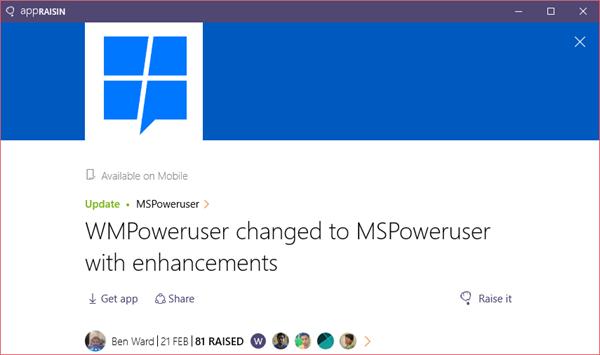 MSPoweruser | AppRaisin