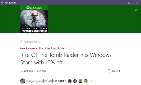 Rise Of The Tomb Raider | AppRaisin