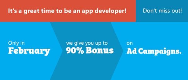 AdDuplex Februarys bonus