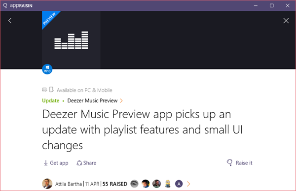 Deezer Music Preview | AppRaisin