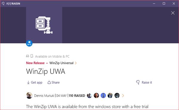 WinZip Universal | AppRaisin