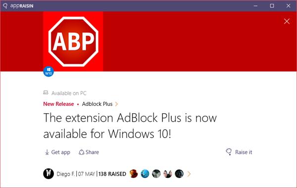 Adblock Plus | AppRaisin