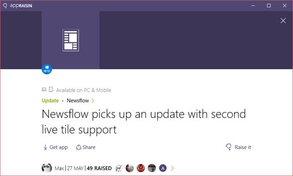 Newsflow | AppRaisin